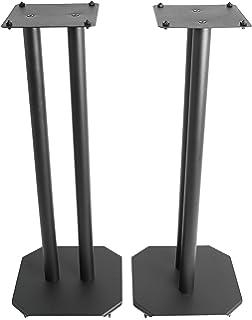 VIVO Premium Universal Floor Speaker Stands For Surround Sound Book Shelf Speakers STAND