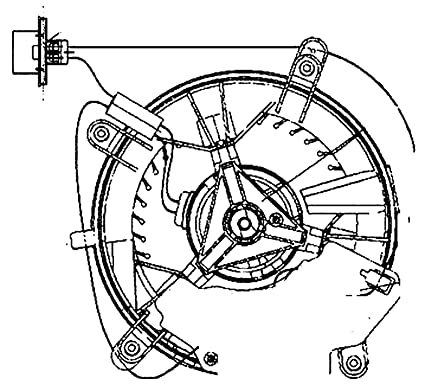 Amazon Com Behr Hella Service 009159461 Fan Hvac Mb Blower Automotive