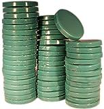epilwax S.A.S–Ciottoli di cera Pinzetta pelable azulène (Verde)–Bustina di 1kg cera calda riutilizzabile, qualità Extra professionale.
