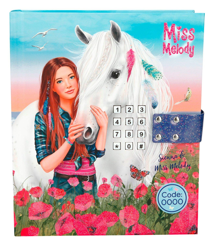 Depesche 8785Journal Miss Melody avec Code et Son, Bleu