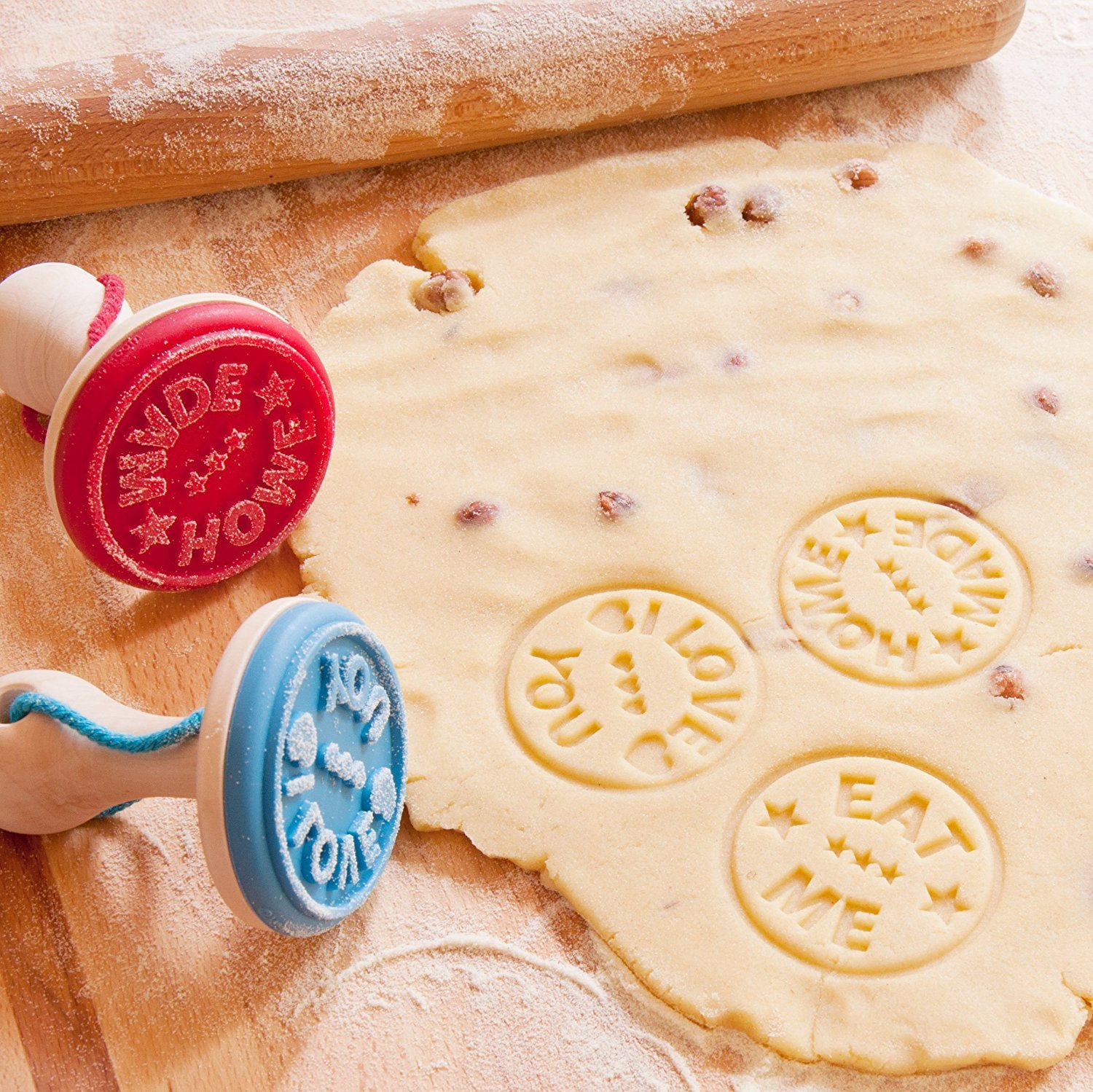 SUCK UK Cookie stamp - Home Made (3 Pack)