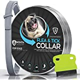 Flea and Tick Collar for Dogs with Flea Comb - Safe and Effective - Adjustable Waterproof