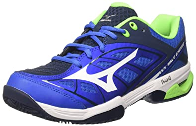 39fa3177fe1a Mizuno Men's Wave Exceed CC Tennis Shoes, Multicolour  (StrongBlue/White/DressBlues 01