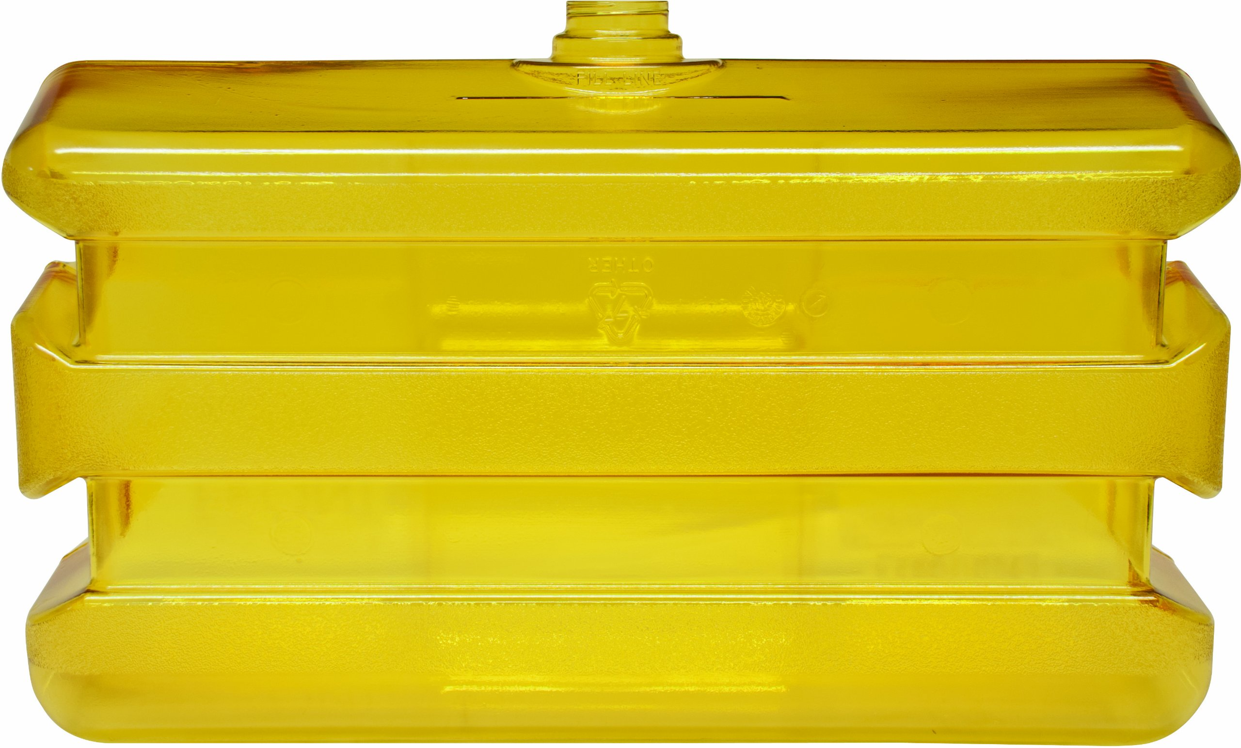 Bradley 133-140 Polycarbonate On-Site Portable Eyewash Tank, Clear/Yellow by Bradley Emergency Fixtures