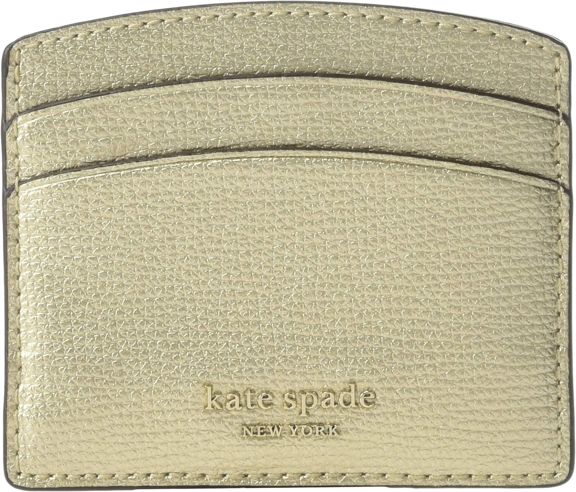 Kate Spade New York Women's Sylvia Card Holder Palegold One Size