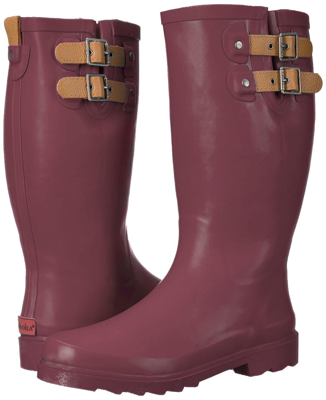 Chooka Women's Tall Rain Boot B01LZ2Z5R0 11 B(M) US Wine