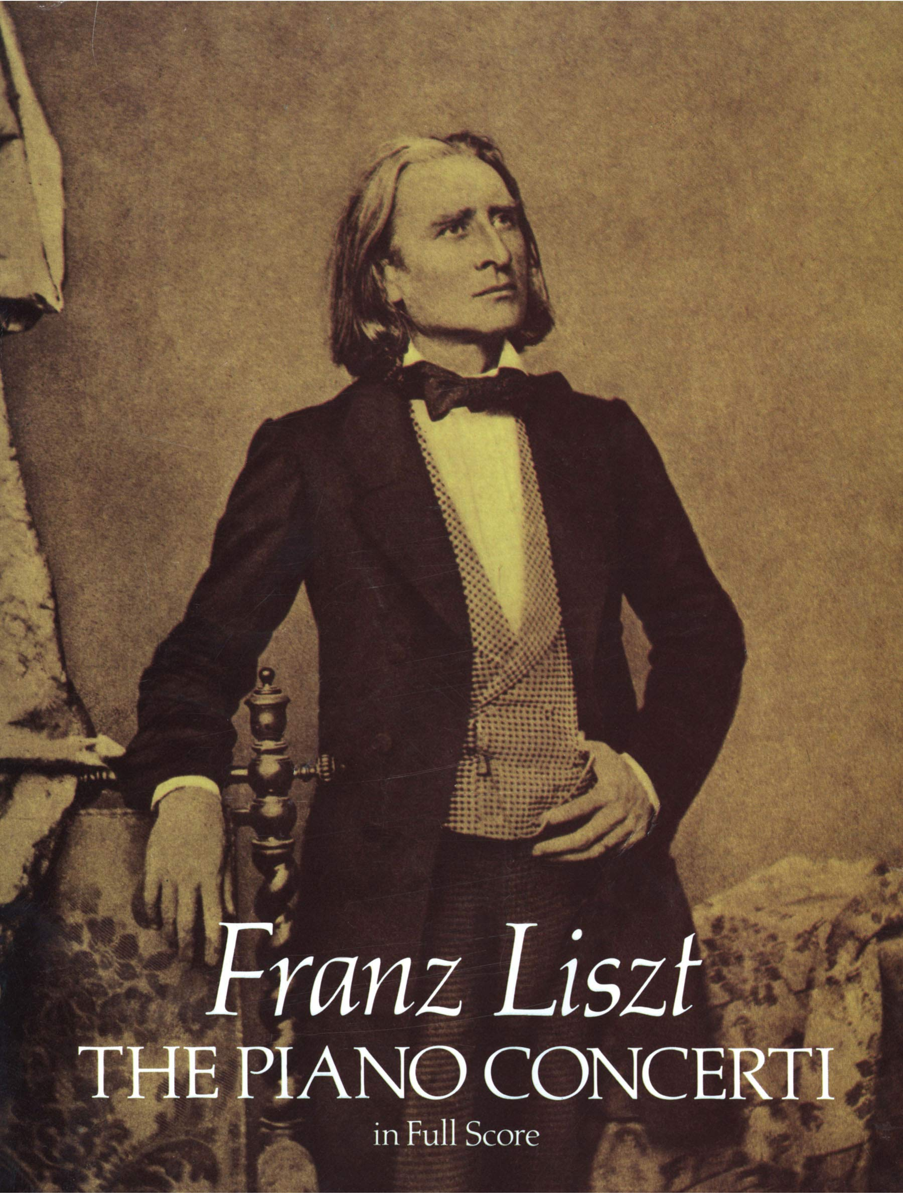 The Piano Concerti in Full Score (Dover Music Scores): Franz Liszt:  9780486252216: Amazon.com: Books