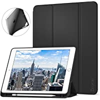 Ztotop Newest iPad 9.7 Inch 2018/2017 Case w/ Pencil Holder (Black)