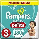 Pampers Baby-Dry Pants, Gr.3, Midi 6-11kg, Monatsbox, 1er Pack (1 x 24 Stück)