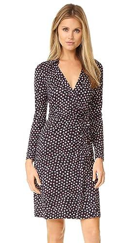 Diane von Furstenberg Women's New Jeanne Two Wrap Dress