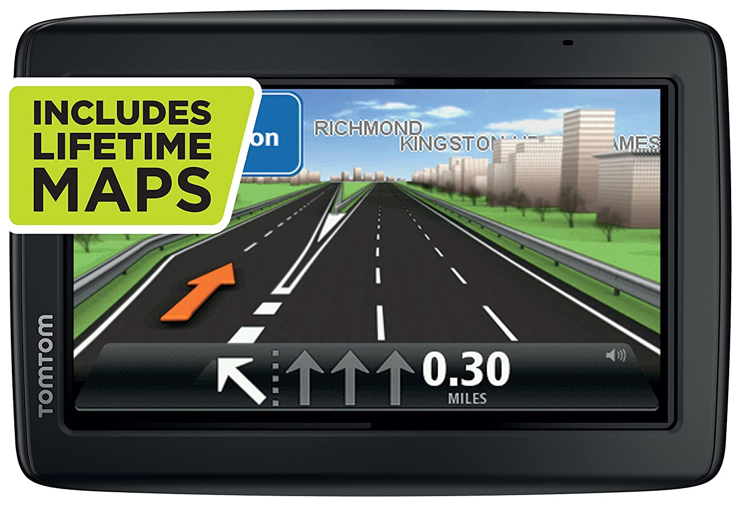 TomTom Start  Inch Sat Nav GPS System With UK And ROI Maps - Gps navigation uk and us maps