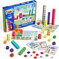 hand2mind Numberblocks MathLink Cubes 1-10 Activity Set, 30 Numberblocks Activities Linked to TV Episodes, 100…