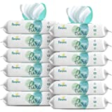 Pampers Aqua Pure Sensitive Water Baby Diaper Wipes, Hypoallergenic and Unscented, 12X Pop-Top Packs, 672 Wipes