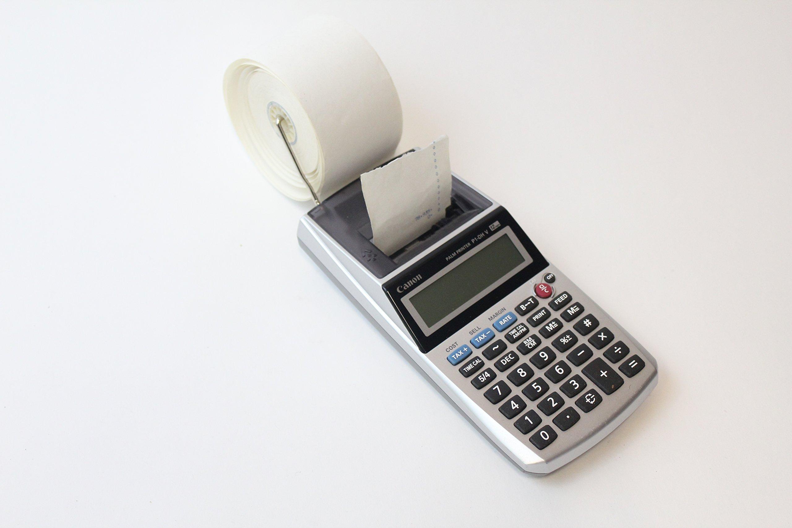 Canon Palm Printer P1-DH V Printing Calculator