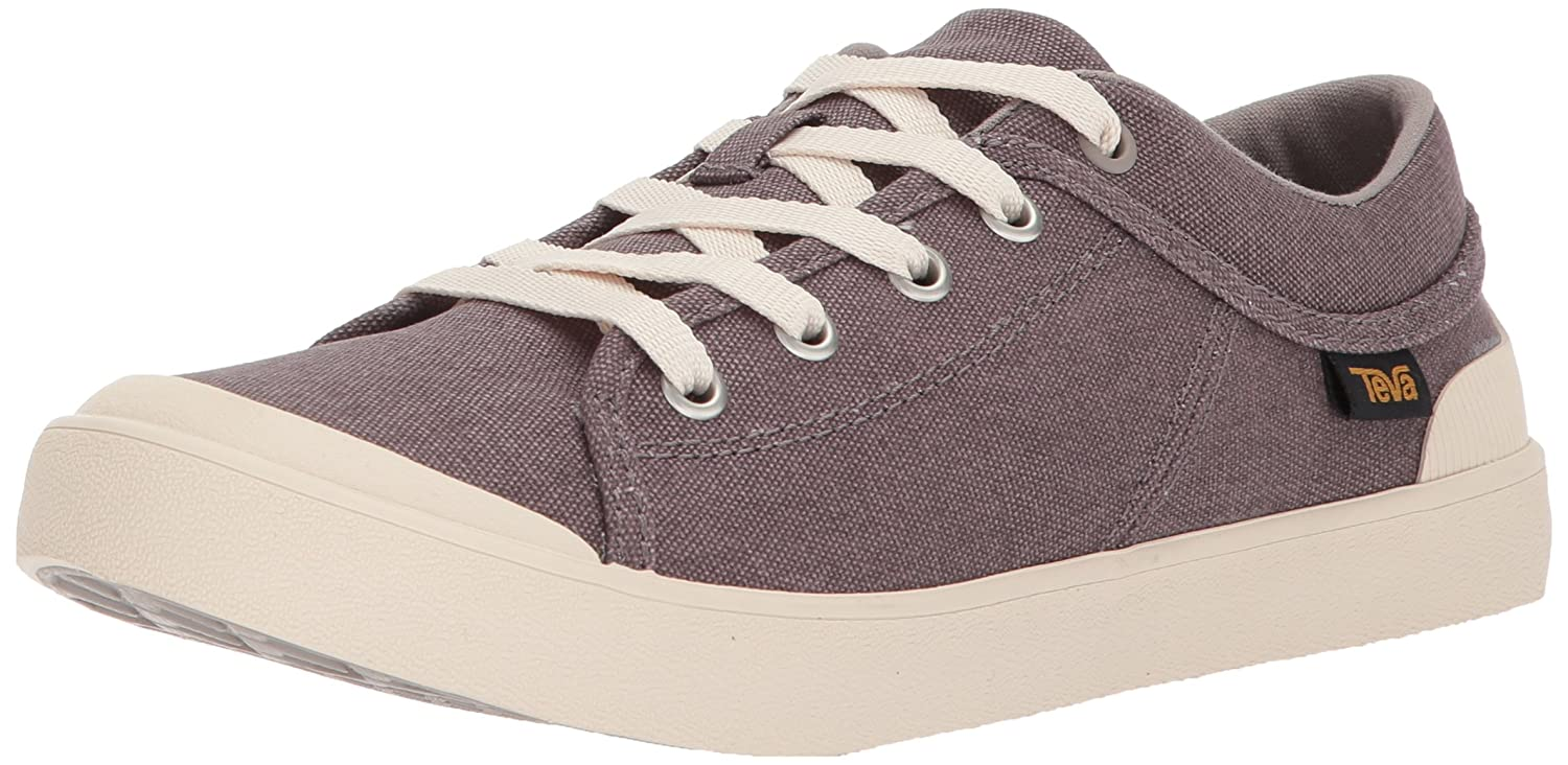 Teva Womens W Freewheel Washed Canvas Shoe B072MHR228 9.5 B(M) US|Plum Truffle