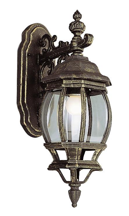 Trans Globe Lighting 4053 BC Outdoor Francisco 20u0026quot; Wall Lantern, Black  Copper