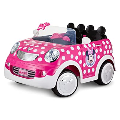 Disney Minnie Mouse Hot Rod Coupe 12 Volt by Pacific Cycle: Toys & Games