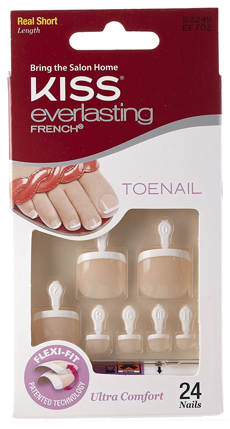 Buy Kiss Everlasting French Toenails Online at Low Prices in India ...