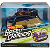 Hot Wheels Speed Chargers LED Racers ePower Surge - Car and Charger