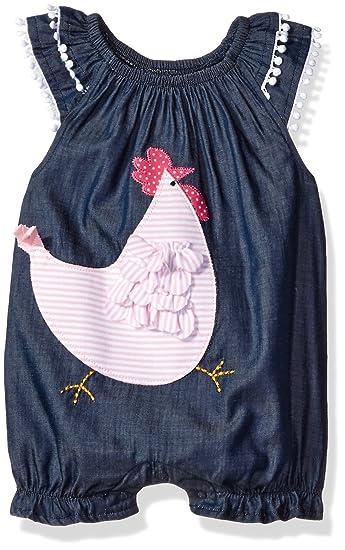 30393107e348 Amazon.com  Mud Pie Baby Girls  Bubble Romper