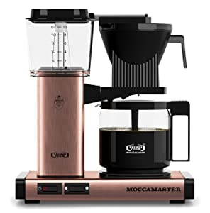 Technivorm Moccamaster Moccamaster 59162 KBG Coffee Brewer 40 oz. Copper