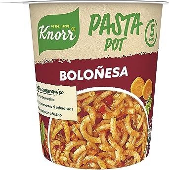 Knorr Pasta Pot Salsa Boloñesa 68g: Amazon.es: Alimentación y ...
