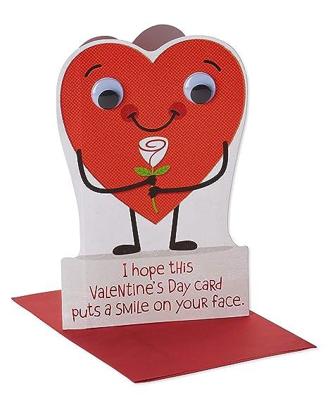 Amazon.com: Tarjeta de felicitación del Día de San Valentín ...