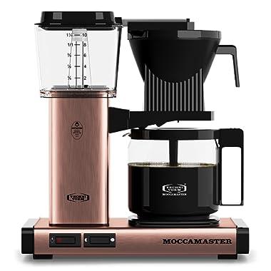 Technivorm Moccamaster 59162 KBG Coffee Brewer, 40 oz, Copper