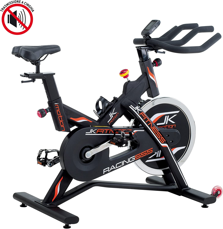 JK FITNESS - RACING 555 - Speed bike: Amazon.es: Deportes y aire libre