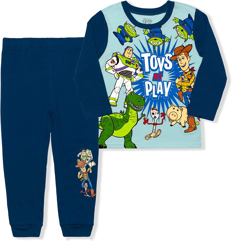 Disney Pixar Boys' 2 Piece Toy Story Sweater and Jogger Pant Set