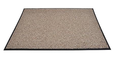 High Quality Rubber Door Mats   Allure Machine Washable Slim Heavy Duty Non Slip Flexi  Doormat For Inside