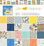 """American Crafts 48 Sheets Amy Tan Finders Keepers Paper Pad, 12 x 12"""""""