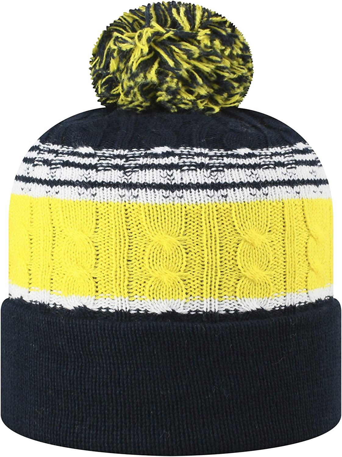 Top of the World Mens Knit Altitude Warm Team Icon Hat