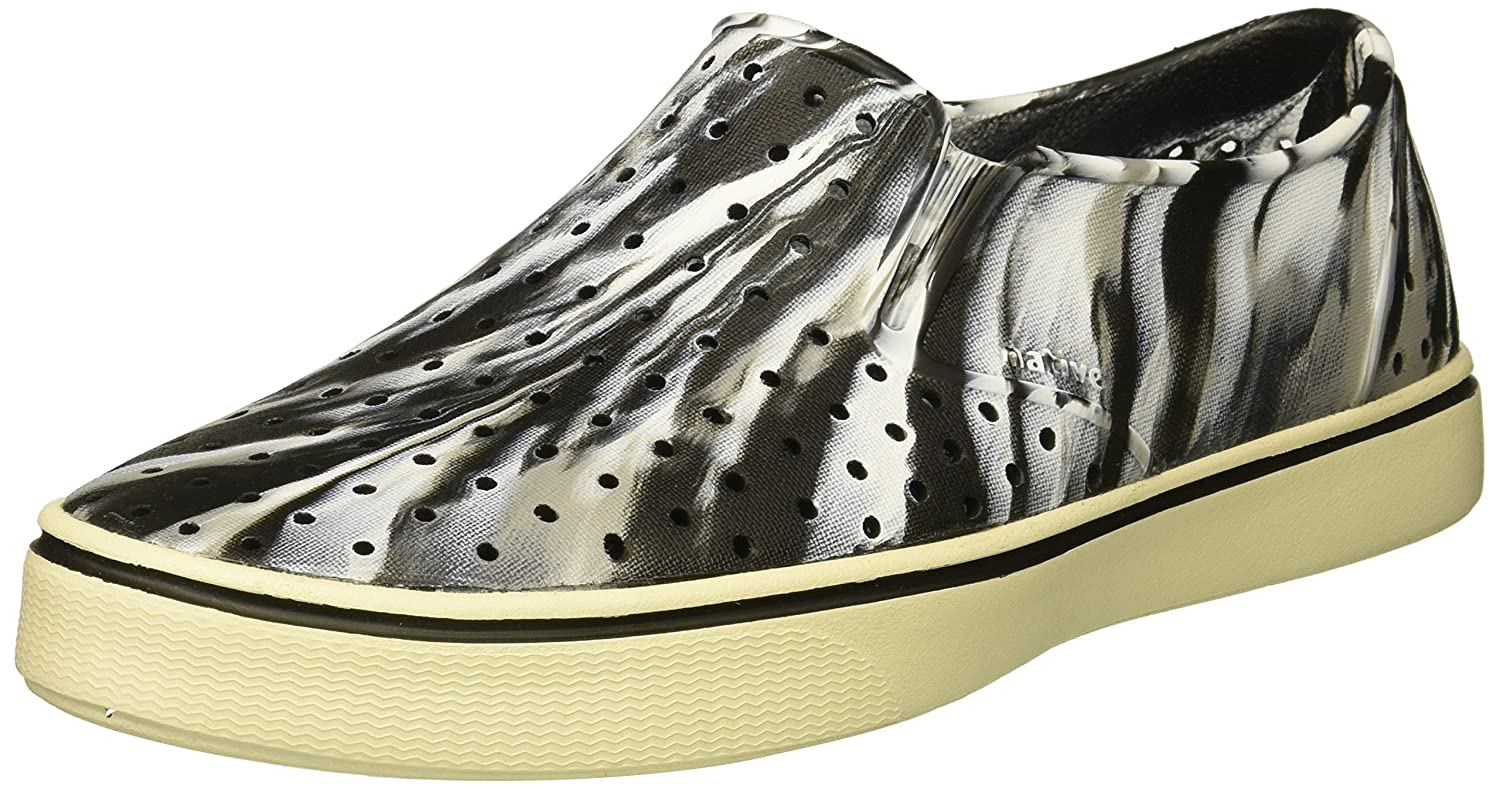 native Women's Miles Water Shoe B071JRBZKG 7 Men's (9 B US Women's) M US|Jiffy Black/Bone White/Marble