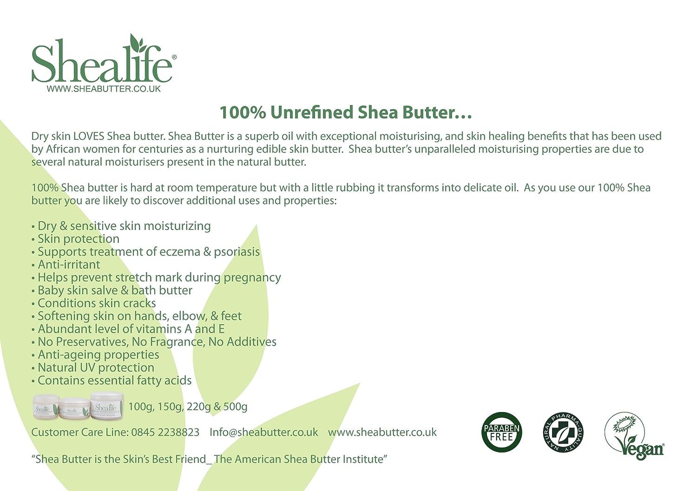 1 Kilogramm organische ungereinigte Shea-Butter-für die ...