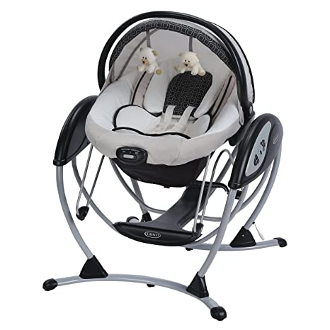 7d5ff75e4 Graco, Asiento mecedora Glider Elite Pierce: Amazon.com.mx: Bebé