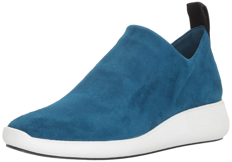 Via Spiga Women's Marlow Slip Sneaker B074F1GHHH 9.5 B(M) US|Peacock Suede