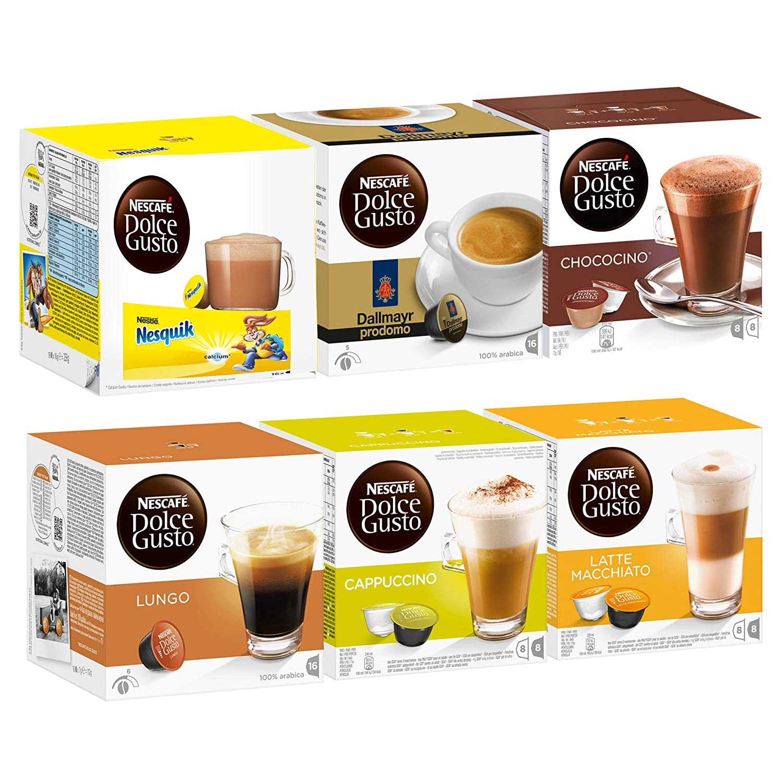 Nescafé Dolce Gusto Set Family Edition, Café, Cápsulas de ...