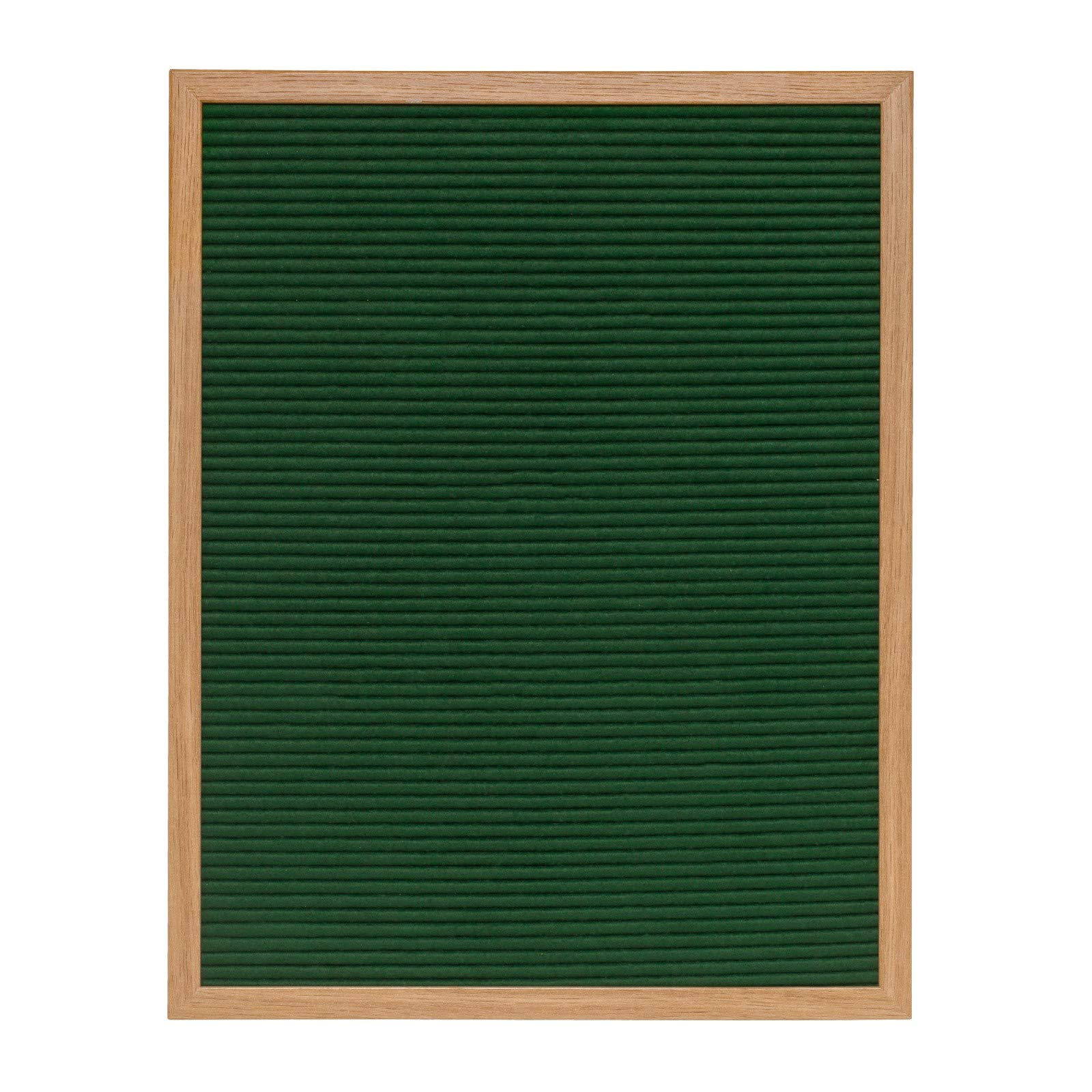 Green Felt Letter Board 16x20 inches. Includes 290 Changeable Letters & Symbols Free Bonus Bag for Storing Letters
