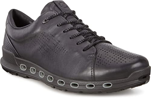 Ecco Men's Cool 2.0 Leather Gore tex Sneaker