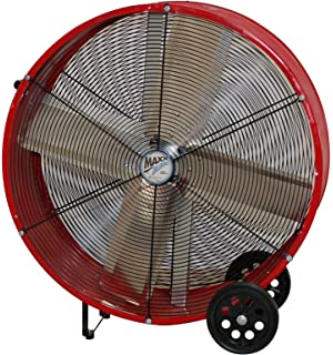 amazon com maxxair hvpf 30 ups 30 inch heavy duty three speed maxxair bf30dd redups 30 inch direct drive commercial fan red