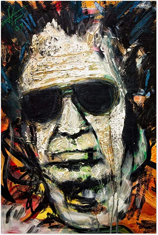 Rolling Stones Poster Art Keith Richards Print