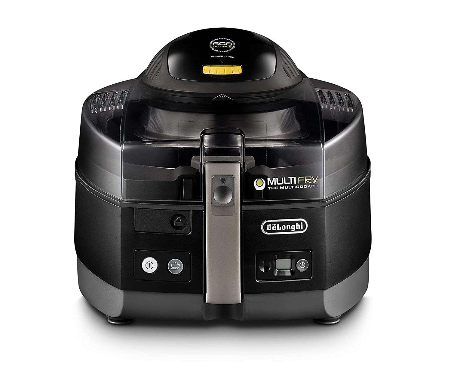 De'Longhi FH1363 MultiFry Extra, air fryer and Multi Cooker, Black (Renewed)
