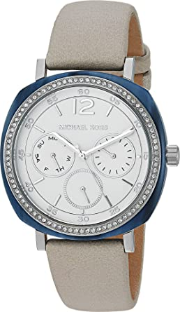 Amazon.com  Michael Kors Women s MK2672 Ivory Silver One Size  Watches bd392e9310a