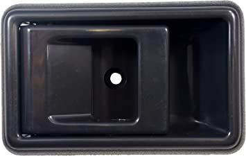PT Auto Warehouse GM-2576G-1LH Dark Gray Inside Interior Inner Door Handle Lever Only Driver Side