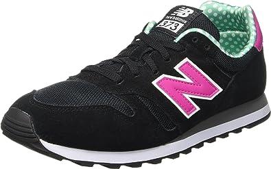 New Balance Zapatillas Wl373 Negro/Rosa EU 35 (US 5): Amazon ...