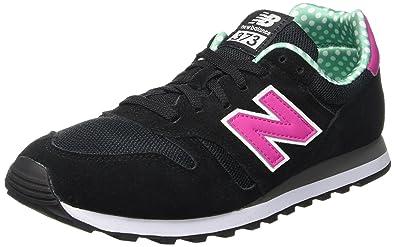 New Balance 487661 50, Baskets Basses Femme: