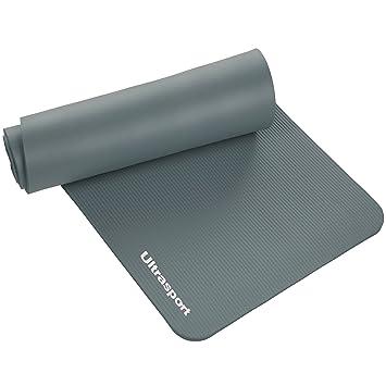 Ultrasport Esterilla de gimnasia, esterilla para deporte, esterilla de fitness para el entrenamiento, pilates, yoga, aerobic o masajes