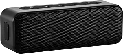 AmazonBasics 10-Watt Bluetooth Stereo Speaker with Water Resistant Design -  Black