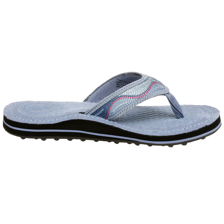 Buy Clarks Privo Women's Bon Bon 2 Flip Flop, Blue, 11 M at